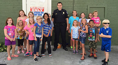 ECC Youth Thank you, Police.
